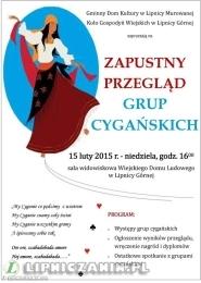 Zapustny Przegląd Grup Cygańskich w Lipnicy Górnej