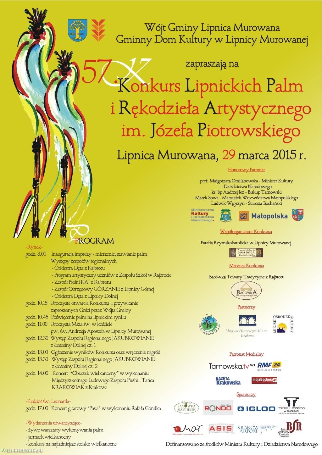 plakat-program-niedziela-palmowa-lipnica-murowana-2015