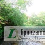 Uszwica w rejonie dawnego grodu na szlaku węgierskim