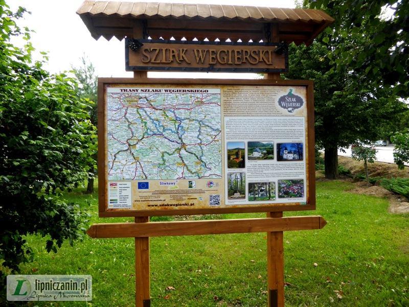 Szlaki i ścieżki turystyczne w obszarze gminy Lipnica Murowana