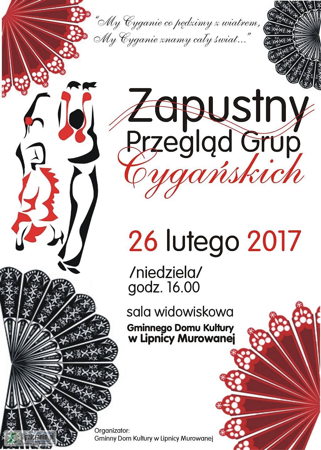 26 lutego Cygańska zabawa  w Lipnicy Murowanej
