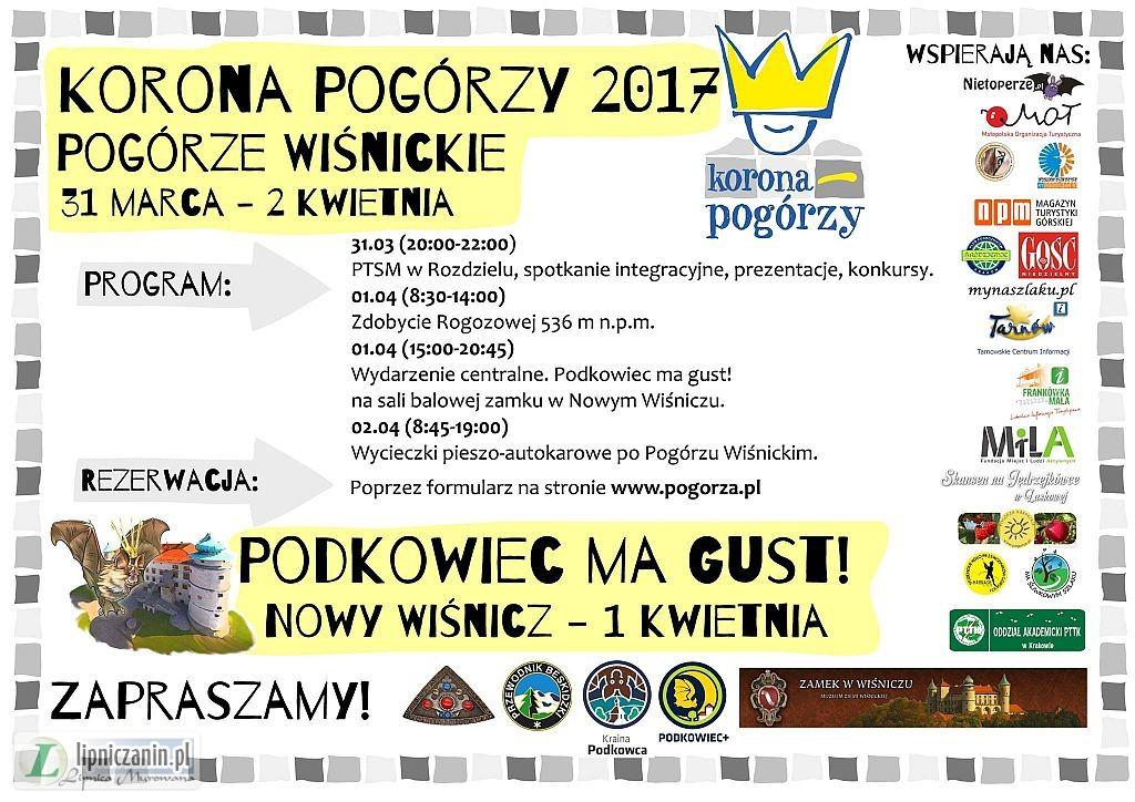 Święto Pogórza Wiśnickiego – Korona Pogórzy. 31 marca – 2 kwietnia