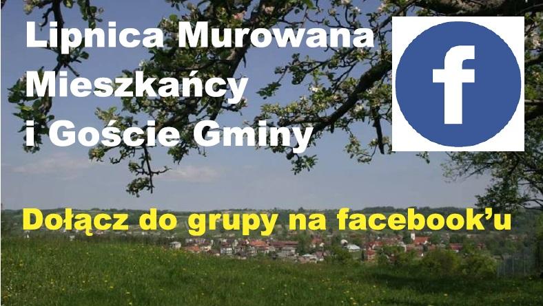 Lipnica Murowana – Mieszkańcy i Goście Gminy – dołącz do grupy na FB