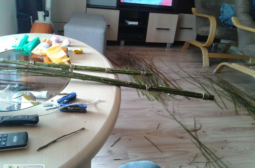 W Lipnicy Murowanej ostatnie przygotowania przed niedzielą palmową…