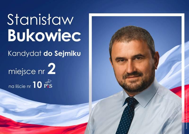 Wywiad ze Stanisławem Bukowiec kandydatem do Sejmiku Województwa Małopolskiego