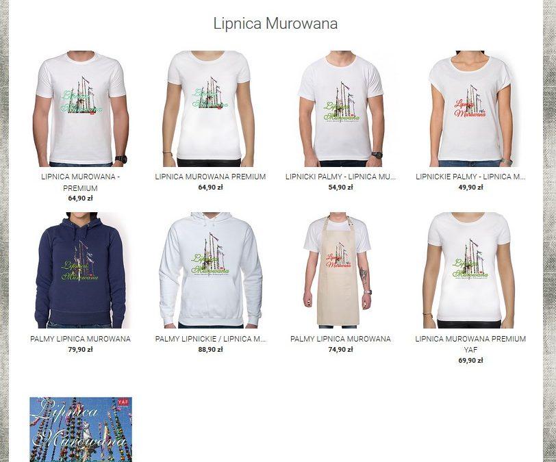 Bluzy, koszulki… z Lipnickimi Palmami