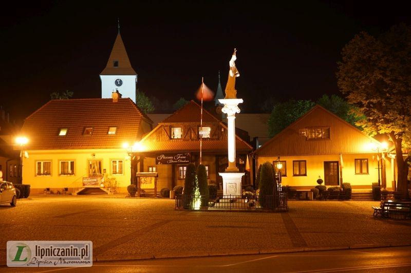 Lipnica Murowana nocą – galeria zdjęć